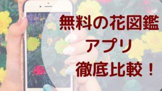 無料花図鑑アプリアイキャッチ画像